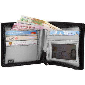 Pacsafe RFIDsafe Z100 Bi-Fold Wallet Charcoal